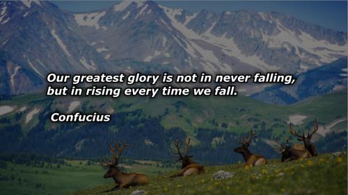 confucius glory